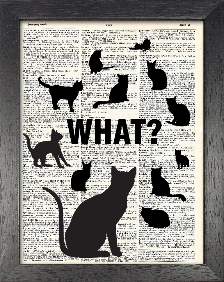 Dictionary Page Print